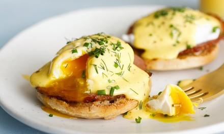 Breakfast with Tea or Coffee for One ($10), Two ($20) or Four People ($40) at M.Y. Roasting Cafe (Up to $80 Value)
