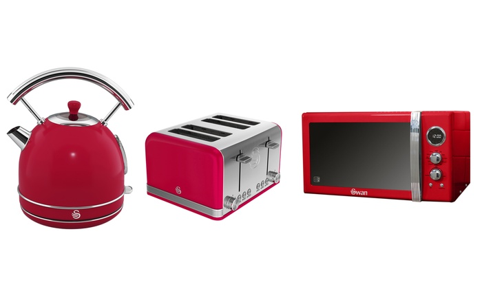 Swan Microwave Kettle And Toaster