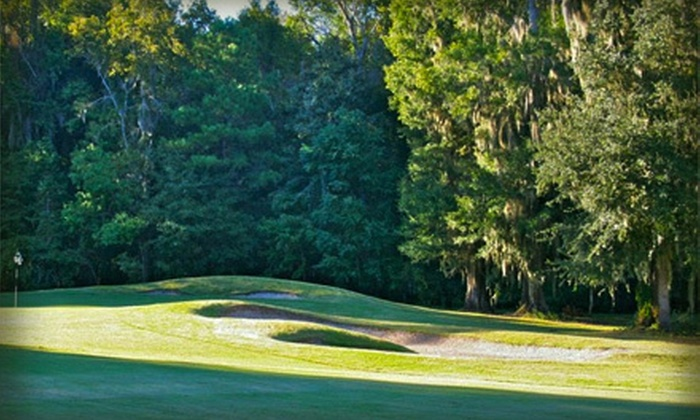 Henderson Golf Club - Savannah: 18-Hole Round of Golf with Cart Rental for Two or Four at Henderson Golf Club (Up to 54% Off). Two Options Available.