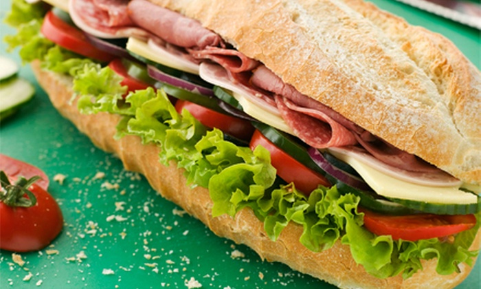 Rocco's New York Italian Deli - Canyon Gate: $14.99 for Two Large Hot or Cold Sandwiches at Rocco's New York Italian Deli (Up to $29.98 Value)