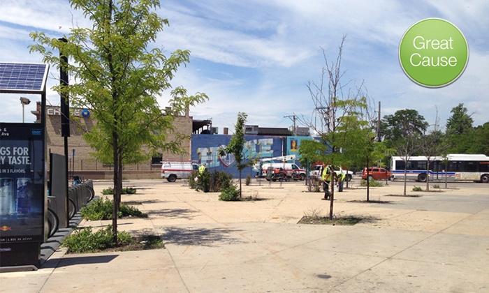Metropolitan Planning Council: $10 Donation to Help Transform One Underused Public Space–Logan Square
