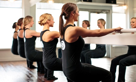 Five Barre Classes or One Month of Unlimited Barre Classes at Smart Barre (Up to 52% Off)