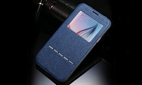 Cover flip case per Samsung e iPhone disponibile in vari modelli e colori