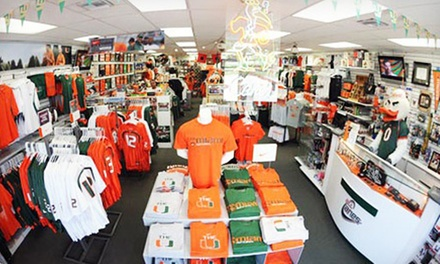 Miami Hurricanes Apparel and Accessories from allCanes (50% Off)