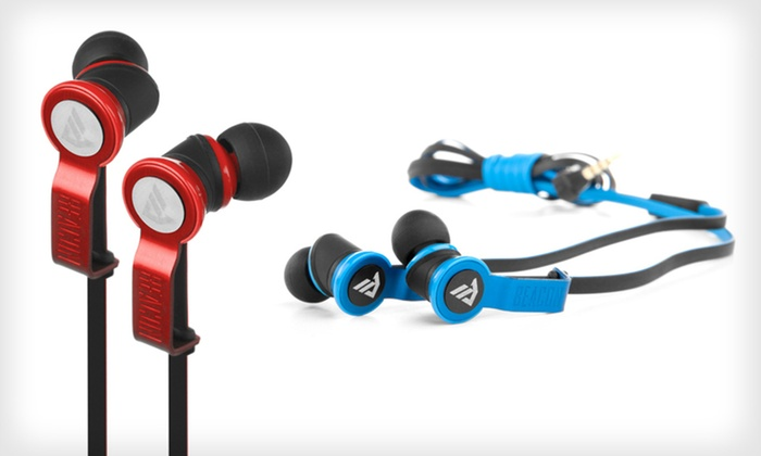 Beacon Audio Earbuds with In-Line Mic: $49 for Beacon The Perseus Earbuds with In-Line Mic in Blue or Red ($69.99 List Price). Free Shipping and Free Returns.
