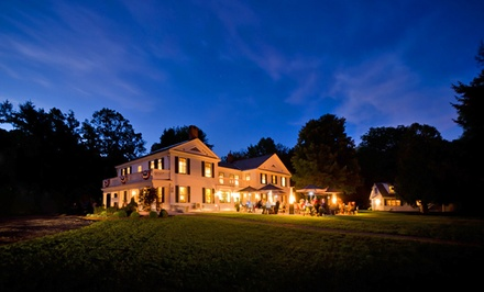 Groupon Deal: 2-Night Stay for Two with Appetizer Credit at Barrows House in Dorset, VT