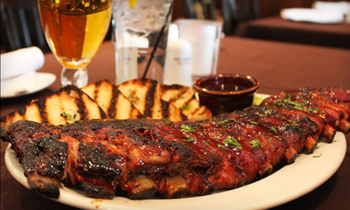 Shorewood Bar & Grill - Fridley: $17 for $35 Worth of Greek and American Comfort Fare on a Weekday or Weekend at Shorewood Bar & Grill in Fridley