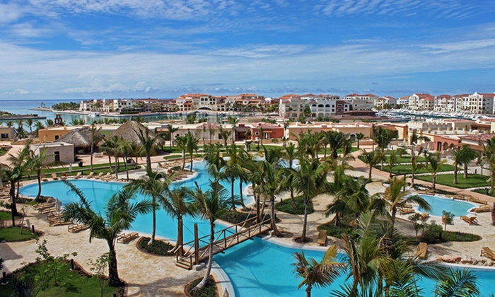 All inclusive upscale punta cana vacation from travel by for Round the world trips all inclusive