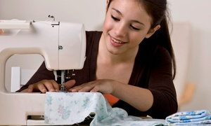 Quilter's Heaven: Just the Basics Introductory Sewing Class for One or Two at Quilter's Heaven (Up to 52% Off)
