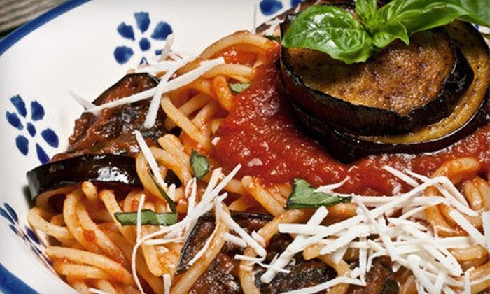 Monastero's Ristorante & Banquets - North Park: Fine Sicilian and Italian Cuisine for Dinner or Lunch at Monastero's Ristorante & Banquets (Up to 53% Off)
