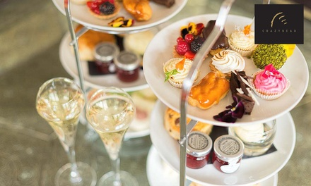 Premium Champagne Afternoon Tea at The Crazy Bear £26.50