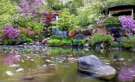 Half Admission To The Anderson Anese Gardens In Rockford