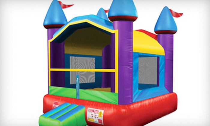 Million Grins Party Rentals - Buffalo: Three-Hour Bounce-House Rental with Option for Certified Attendant from Million Grins Party Rentals (Up to 80% Off)