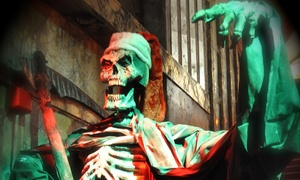 Times Scare NYC: Haunted-House Admission for One Child or for One or Two Adults at Times Scare NYC (Up to 43% Off)