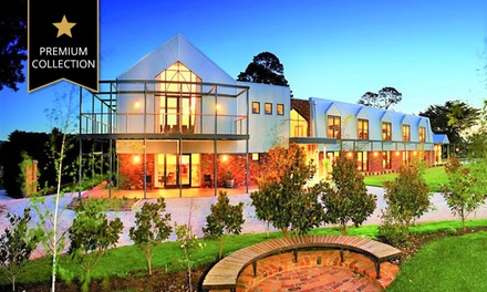 Lancefield: 1-2 Nights for Two with Food and Beverage Voucher and Late Check-Out at 4* Grange Cleveland Winery