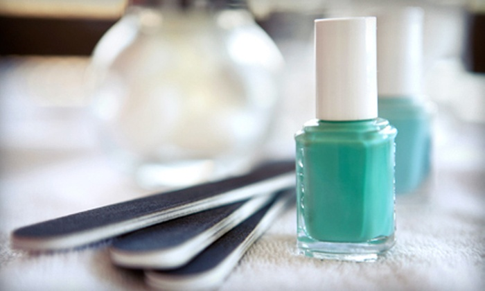 Spa Anjou - South Loop: $29 for a No-Chip Manicure and a Standard Pedicure at Spa Anjou ($75 Value)