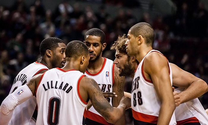 Portland Trail Blazers vs. Philadelphia 76ers - Moda Center: Portland Trail Blazers Game Package at the Moda Center on December 26 (Up to 37% Off). Three Seating Options.