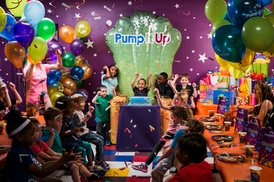 Up to 45% Off Inflatable Play at Pump It Up at Pump It Up - Omaha, plus 6.0% Cash Back from Ebates.
