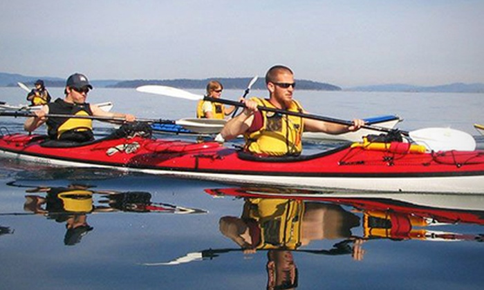 Stickleback West Coast Eatery - Rush Adventures: C$35 for Two-Hour Kayak Rental and Lunch with Burgers and Sodas for Two at Stickleback West Coast Eatery (C$75 Value)