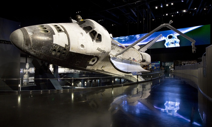 Kennedy Space Center Visitor Complex - Kennedy Space Center Visitor Complex: $65 for Admission, Tour, and Food Voucher at Kennedy Space Center Visitor Complex ($90.10 Value)