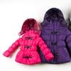 Velvet Chic Girls' Toggle Puffer Jackets