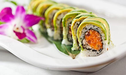 Sushi for Lunch or Dinner at Sakura Bistro (47% Off)