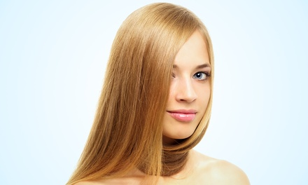 Women's Haircut, Blow-Dry, and Optional Highlights at New York Hair by Jamie (Up to 51% Off)