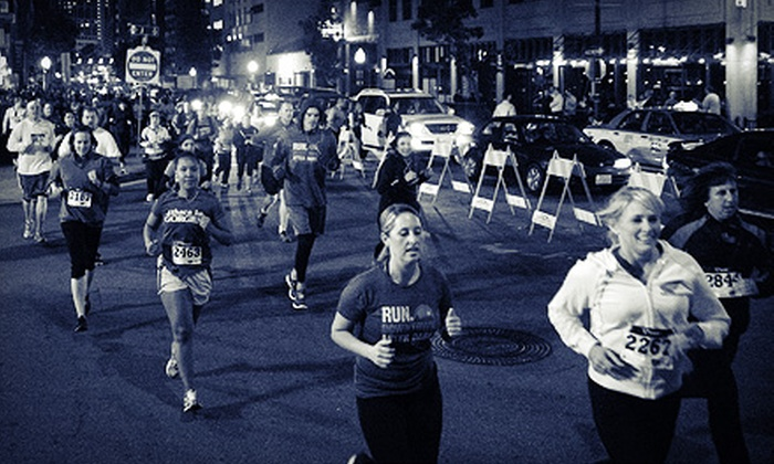 Boise After Dark Dash 5K - Downtown: $25 for Entry to Boise After Dark Dash 5K ($50 Value)