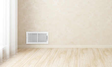 Air Duct Cleaning Package with Optional Dryer Vent Cleaning from Complete Air Duct Cleaning (Up to 81% Off)