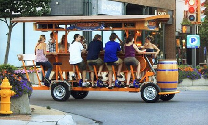 Pedal Hopper - Rio Grande: Two-Hour Sightseeing or Pub-Crawl Rides for Up to 16 Passengers from Pedal Hopper (Half Off). Two Options Available.