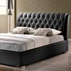 Bianca Modern Platform Bed with Tufted Headboard