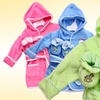 Infant Terry Bathrobes with Booties