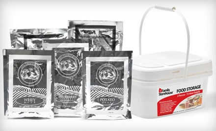 One 72-Hour Emergency Meal Kit for 2 People, Plus Shipping Costs (an $82 total value) - Family Storehouse in