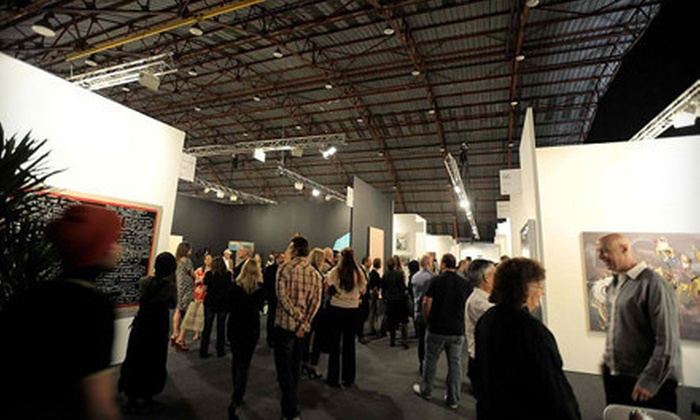 Art Los Angeles Contemporary - Santa Monica: One-Day Art-Fair Visit for One, Two, or Four from Art Los Angeles Contemporary (Up to 65% Off)