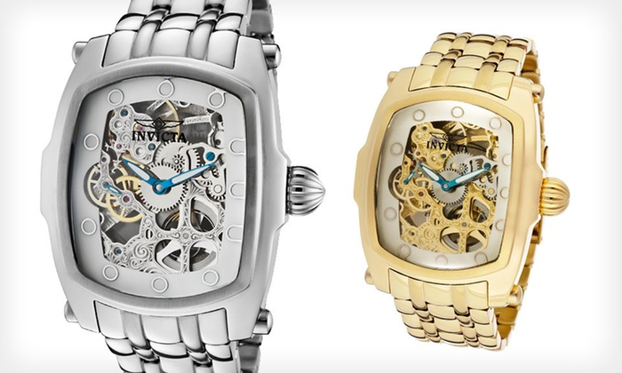 Invicta Men's and Women's Lupah Watches: $115 for an Invicta Lupah Watch ($1,395 List Price). Eight Styles Available. Free Shipping and Free Returns.