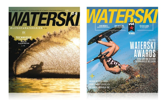 1-Year Subscription to Waterski Magazine (6 Issues)