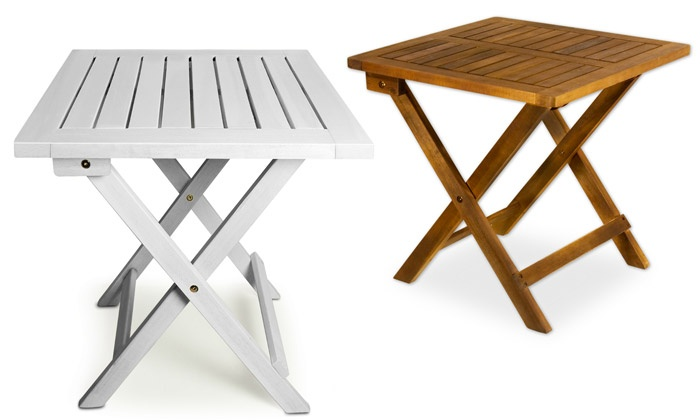 Table d 39 appoint pliante groupon shopping - Table d appoint pliable ...