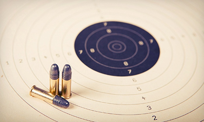 Off Duty Armory - Burleson: Concealed-Handgun-License Course for One or Two with Range Time or 10 Range Visits at Off Duty Armory (Up to 73% Off)