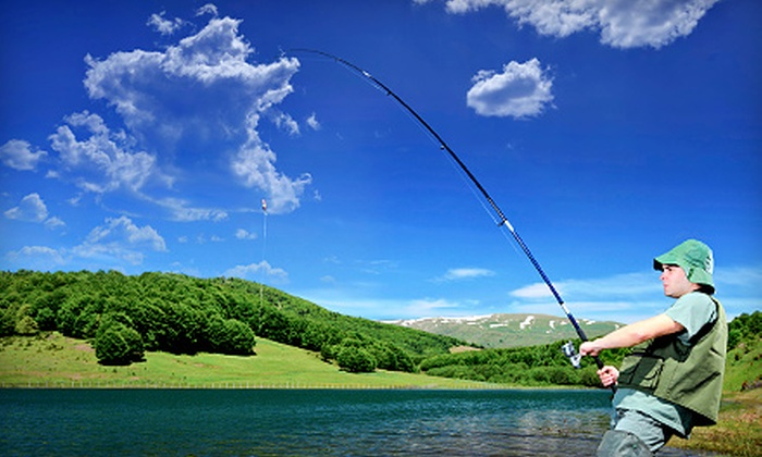 Gone Fishing - Cuyahoga Falls: Three-Hour Fishing Charter for One, Two, or Four from Gone Fishin' Bait and Tackle (Up to 62% Off)