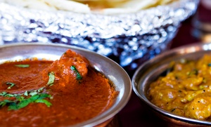 The India Garden Restaurant: $12 for $20 Worth of Indian Food at The India Garden