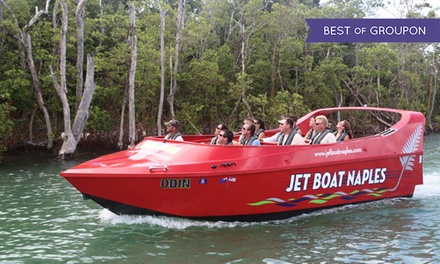 $19.99 for a 60-Minute Jet-Boat Ride from Pure Naples (Up to $39 Value)