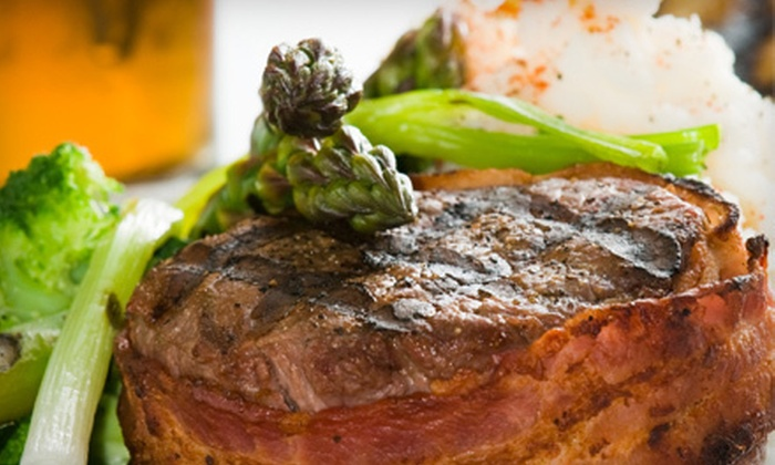 Pilot's Lounge & Bistro - Summerville: Dinner for Four or Six, or $20 for $40 Worth of Steak-House Cuisine at Pilot's Lounge & Bistro