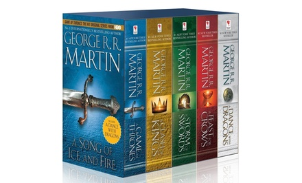 Game of Thrones 5-Novel Box Set
