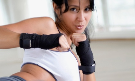One or Three Months of Unlimited Cardio-Kickboxing Classes at Team Tiger Martial Arts (50% Off)