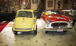Canton Classic Car Museum: Canton Classic Car Museum Visit for Two or Four (Up to 60% Off)