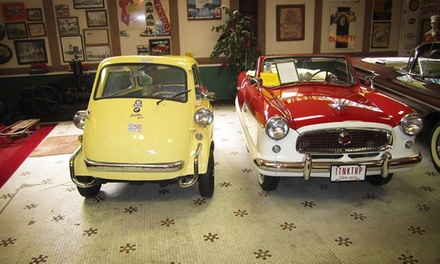 Canton Classic Car Museum Visit for Two or Four (Up to 50% Off)