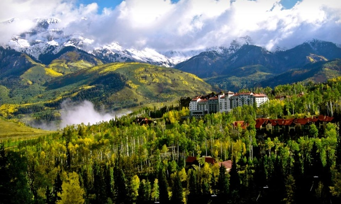 The Peaks Resort - Telluride, CO: 1- or 2-Night Stay for Four in an Alpine Vista King Room with Daily Valet Parking at The Peaks Resort in Telluride, CO