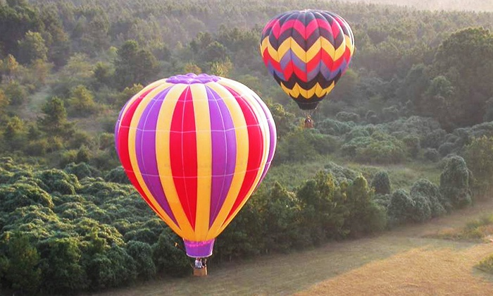 Magic Carpet Ride - Atlanta: Shared Hot Air Balloon Adventure for One or Four from Magic Carpet Ride (Up to 40% Off)