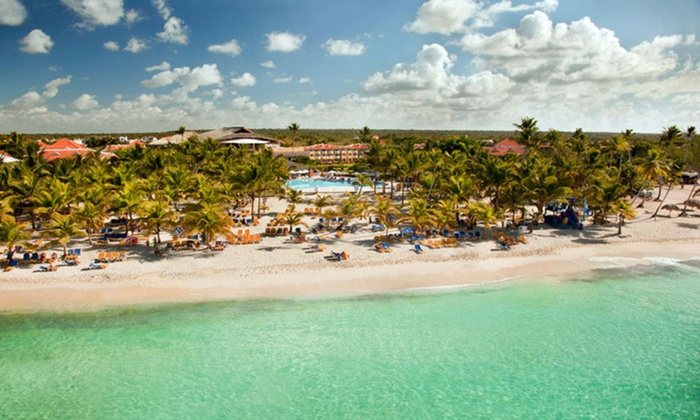 All-Inclusive Viva Wyndham Dominicus Beach Vacation with Airfare from Travel by Jen - Dominican Republic: Viva Wyndham Dominicus Beach Stay w/ Airfare. Incl. Taxes & Fees. Price Per Person Based on Double Occupancy.