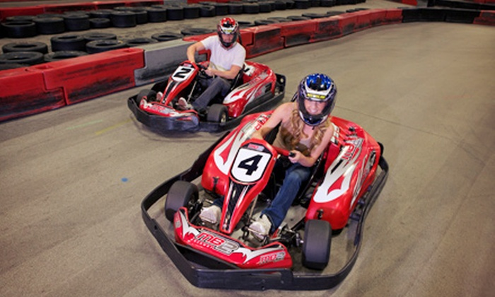 MB2 Raceway - Sylmar: $11 for 9-Lap Junior or 14-Lap Adult Go-Kart Race at MB2 Raceway (Up to $23 Value)